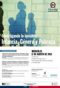 Afiche Investigando lo invisible